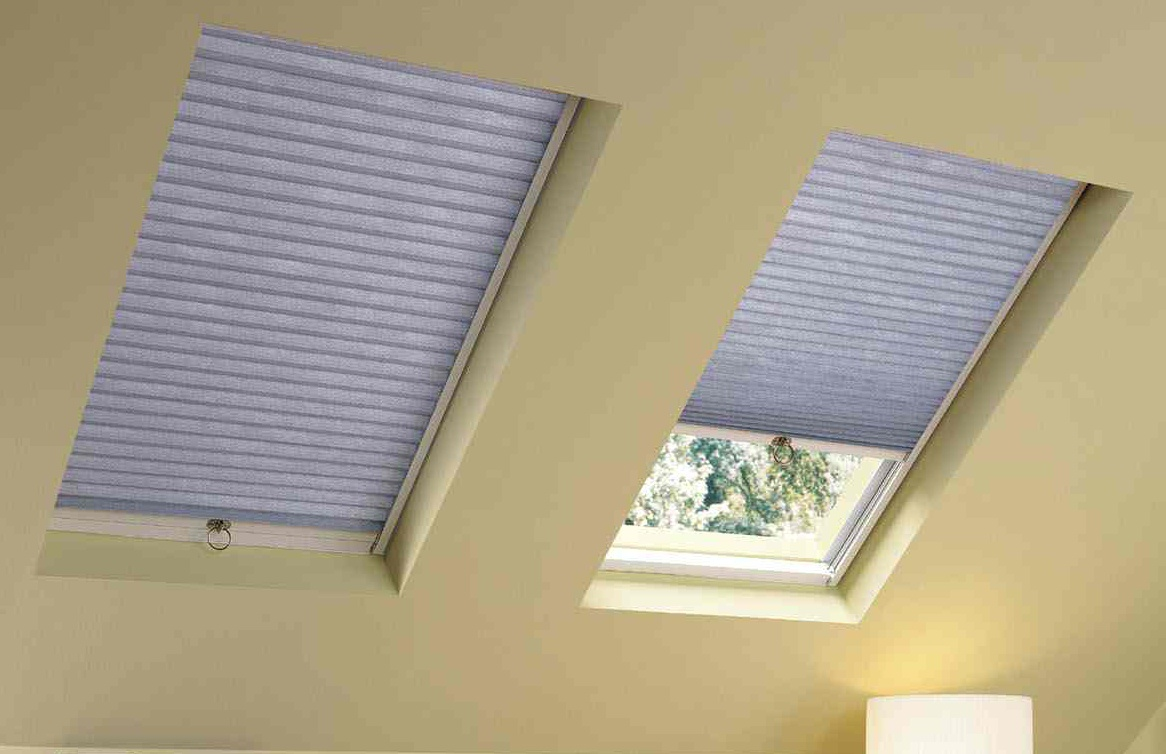 Skylight with Blinds Remote Operated for Convenience